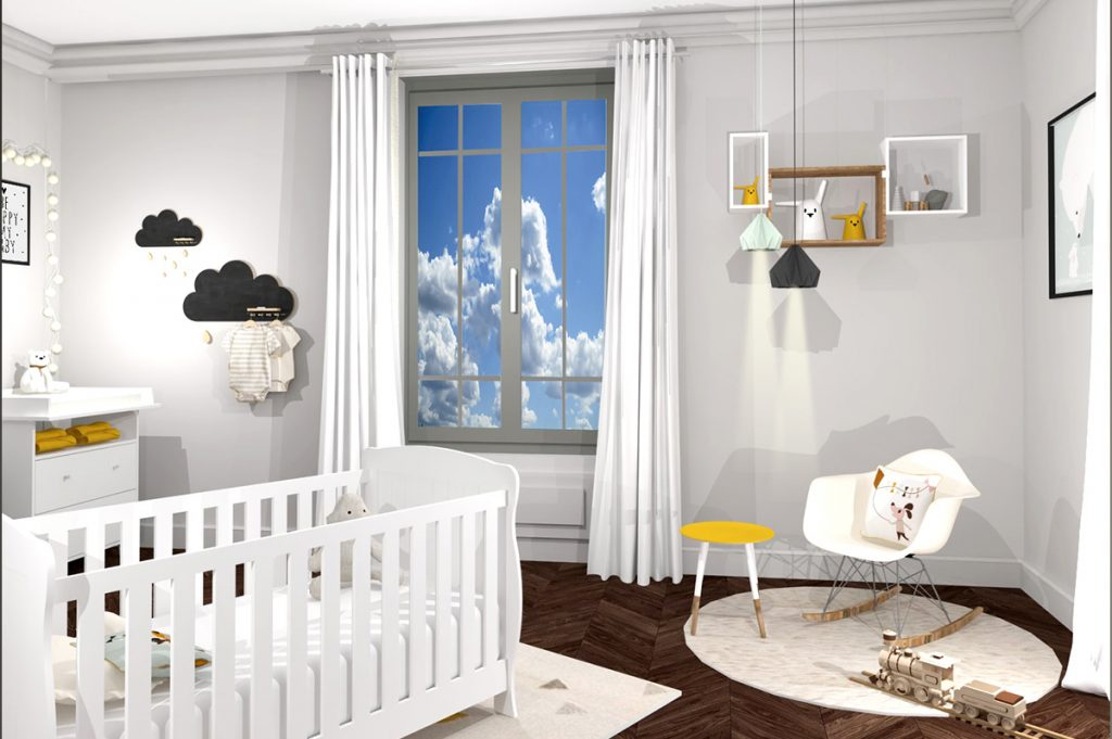 Chambre Enfant 3d