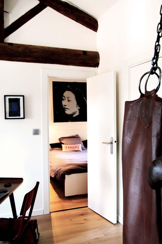 14 renovation appartement sous combles lyon 20 - marlène reynard