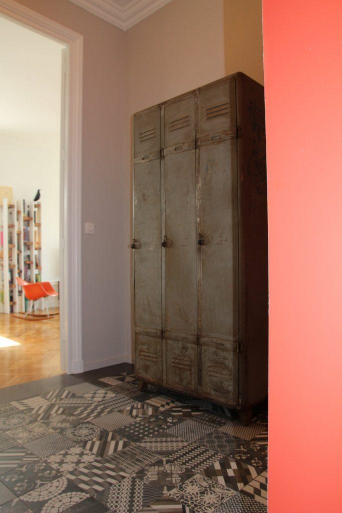 2 Appartement Haussemanien Marlene Reynard Hall Entree Mutina Patchwork