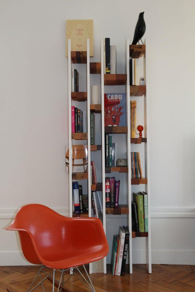 5 Appartement Haussemanien Marlene Reynard Sejour Chaises Eames Bibliotheque 1
