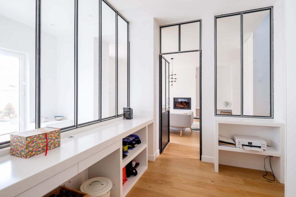 Un appartement avec verrière paris e surdix côté maison