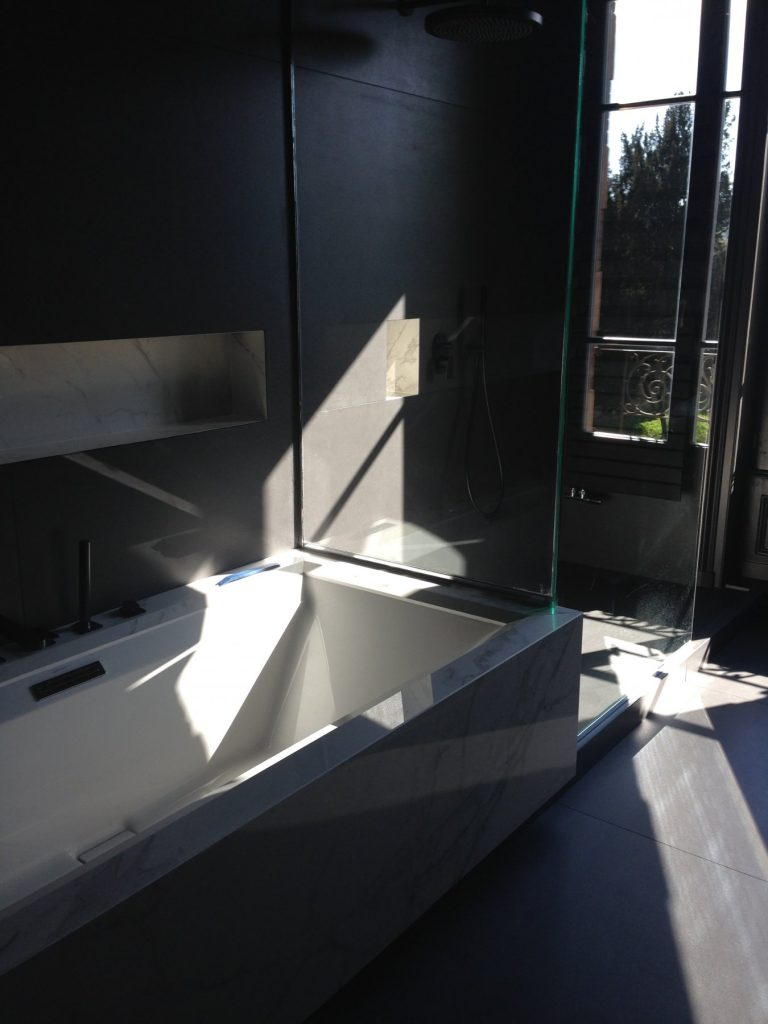1.projet.maison De Maitre.marlene Reynard.architecture Interieure.marbre Calacata.parquet Pointe De Hongrie.coleandson Wallpaper (15)