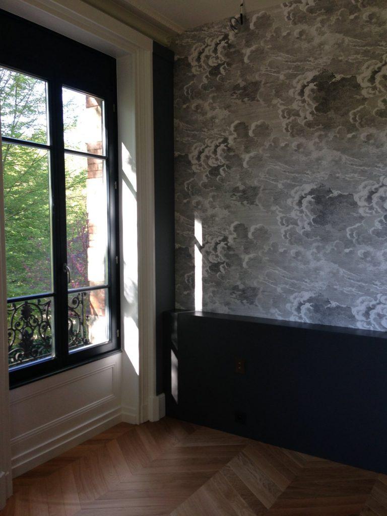 1.projet.maison De Maitre.marlene Reynard.architecture Interieure.marbre Calacata.parquet Pointe De Hongrie.coleandson Wallpaper (19)