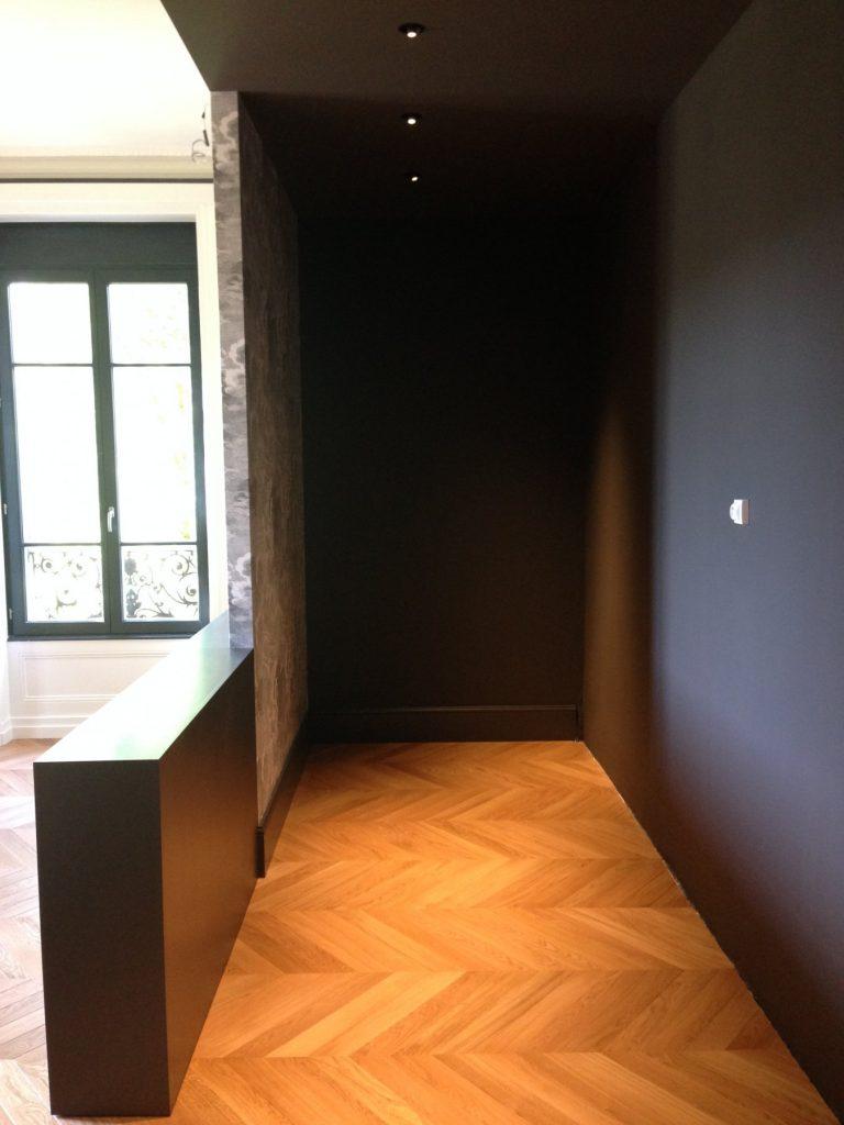 1.projet.maison De Maitre.marlene Reynard.architecture Interieure.marbre Calacata.parquet Pointe De Hongrie.coleandson Wallpaper (23)
