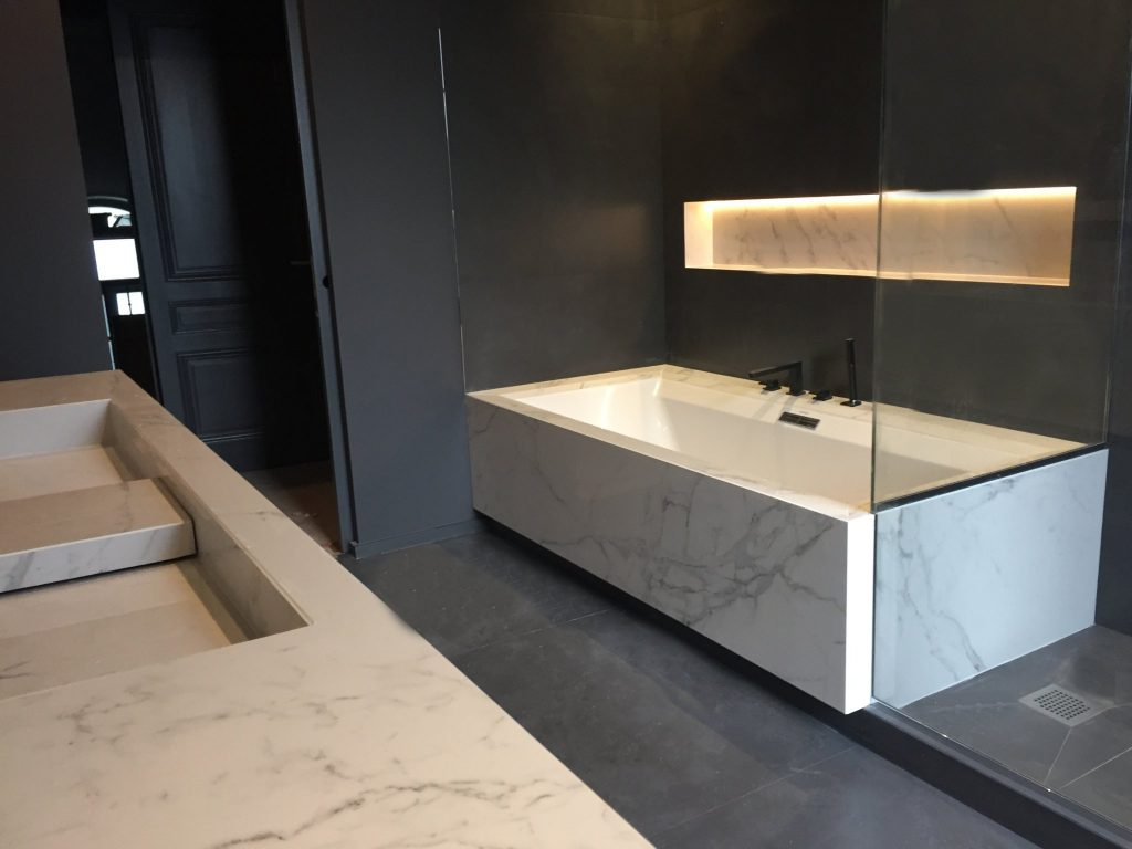 1.projet.maison De Maitre.marlene Reynard.architecture Interieure.marbre Calacata.parquet Pointe De Hongrie.coleandson Wallpaper (31)