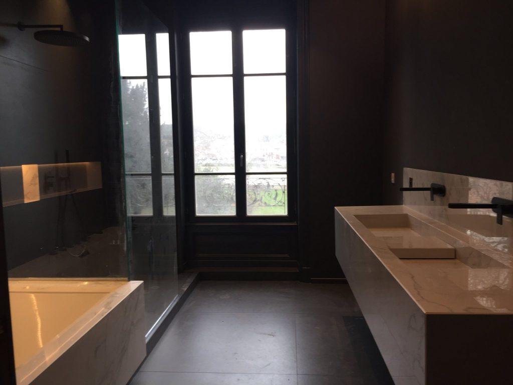 1.projet.maison De Maitre.marlene Reynard.architecture Interieure.marbre Calacata.parquet Pointe De Hongrie.coleandson Wallpaper (32)