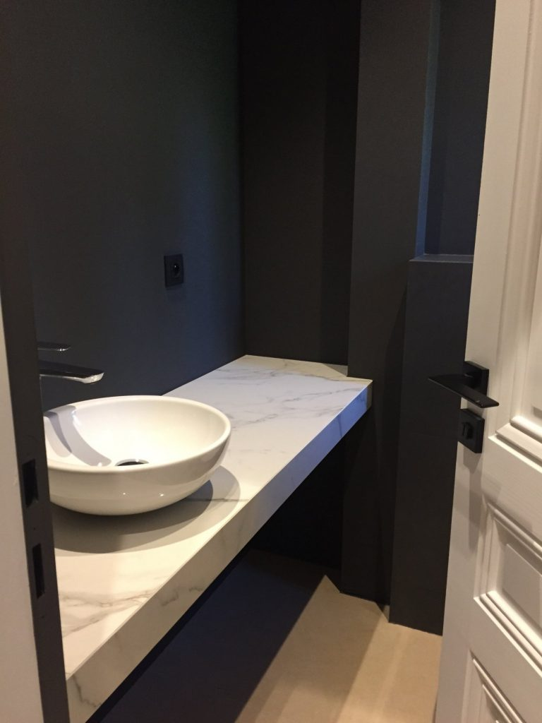 1.projet.maison De Maitre.marlene Reynard.architecture Interieure.marbre Calacata.parquet Pointe De Hongrie.coleandson Wallpaper (34)