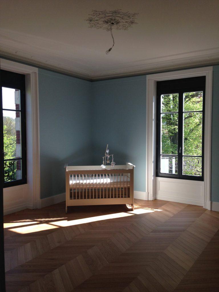 1.projet.maison De Maitre.marlene Reynard.architecture Interieure.marbre Calacata.parquet Pointe De Hongrie.coleandson Wallpaper (7)