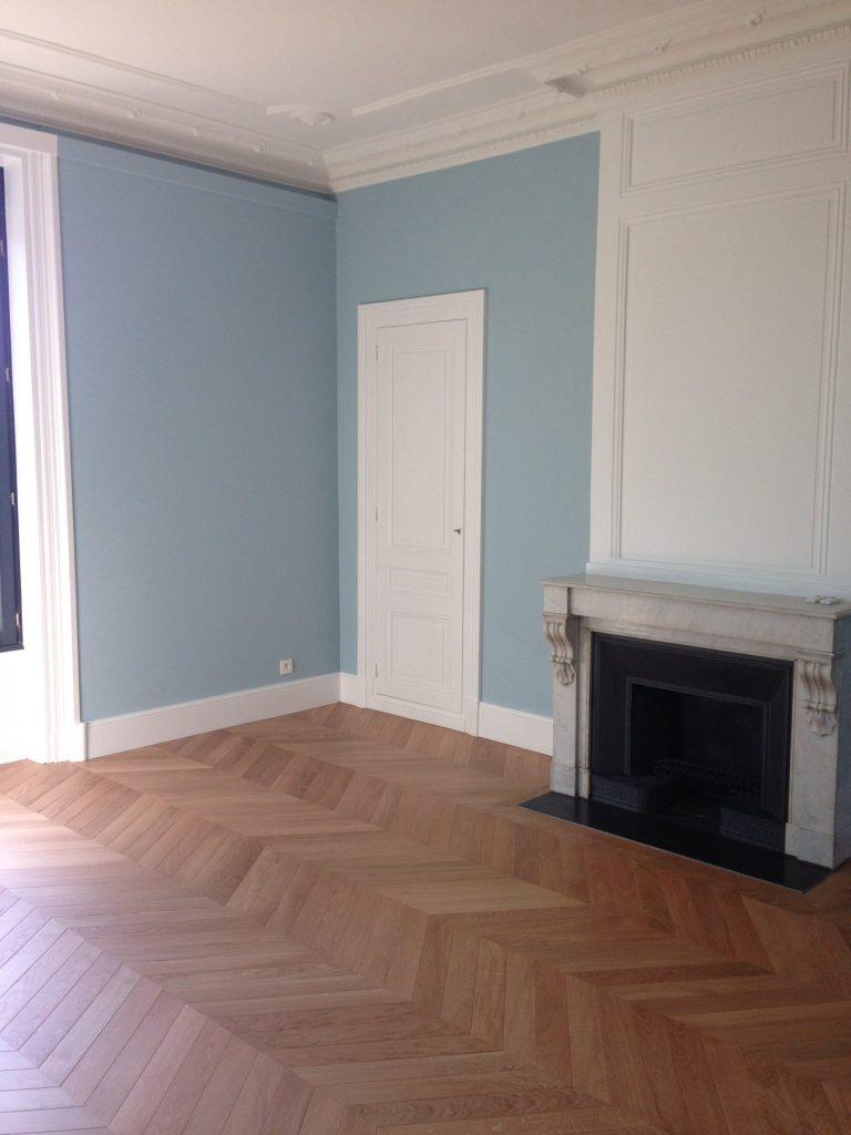 1.projet.maison De Maitre.marlene Reynard.architecture Interieure.marbre Calacata.parquet Pointe De Hongrie.coleandson Wallpaper (8)