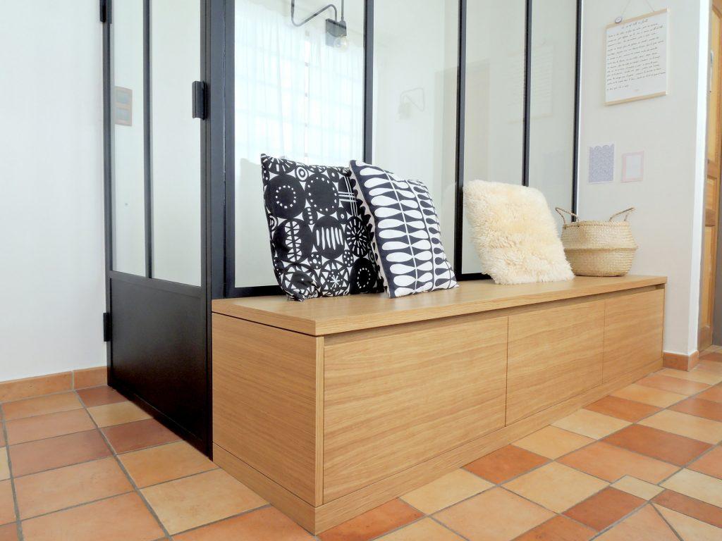 2.loft Croix Roussien.marlenereynard.verriere.meuble Chaussures.escalier.niche Déco.menuiserie.sur Mesure (1)