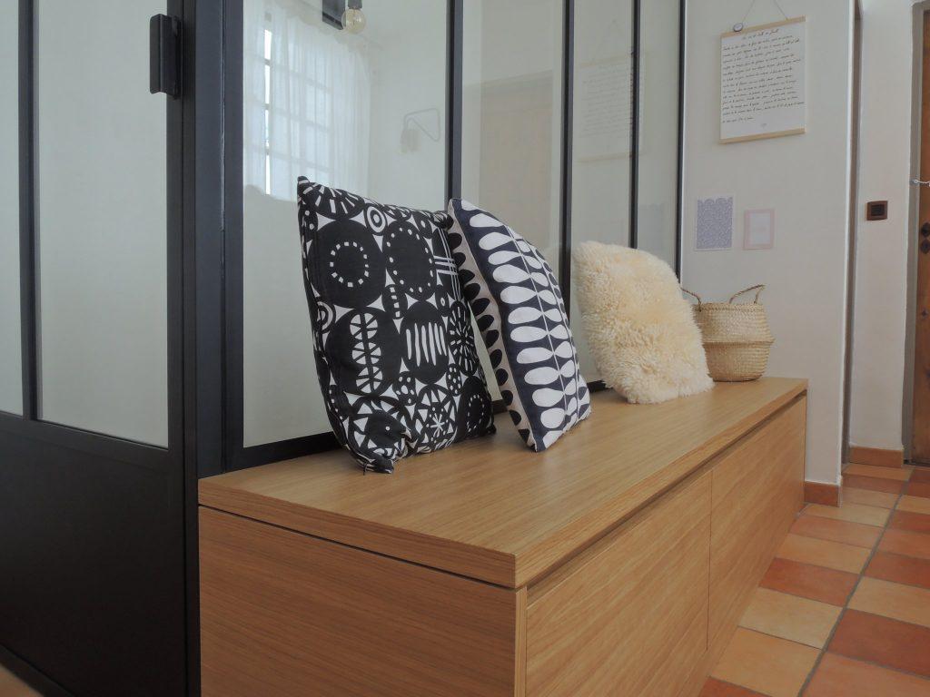 2.loft Croix Roussien.marlenereynard.verriere.meuble Chaussures.escalier.niche Déco.menuiserie.sur Mesure (11)