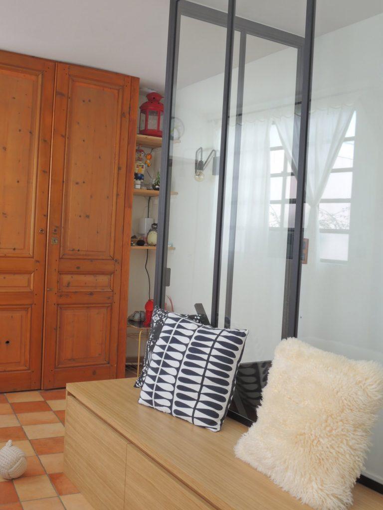 2.loft Croix Roussien.marlenereynard.verriere.meuble Chaussures.escalier.niche Déco.menuiserie.sur Mesure (12)
