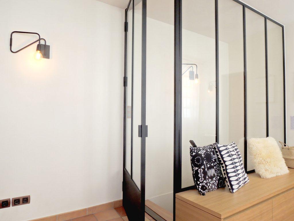 2.loft Croix Roussien.marlenereynard.verriere.meuble Chaussures.escalier.niche Déco.menuiserie.sur Mesure (2)