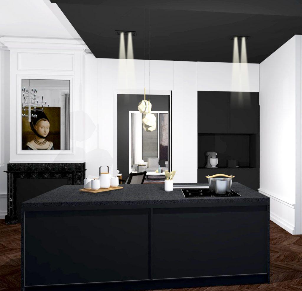 2 Maison Maitre Marlene Reynard Cuisine Salle A Manger Renovation Complete 3