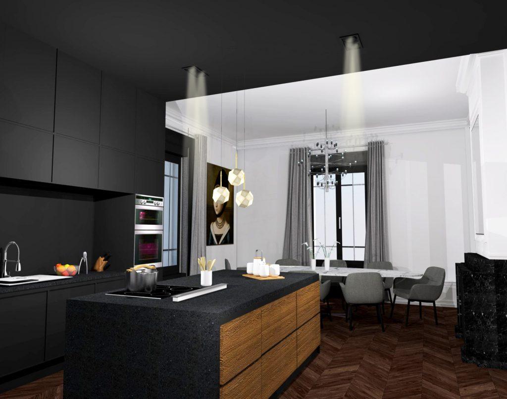 2 Maison Maitre Marlene Reynard Cuisine Salle A Manger Renovation Complete 4