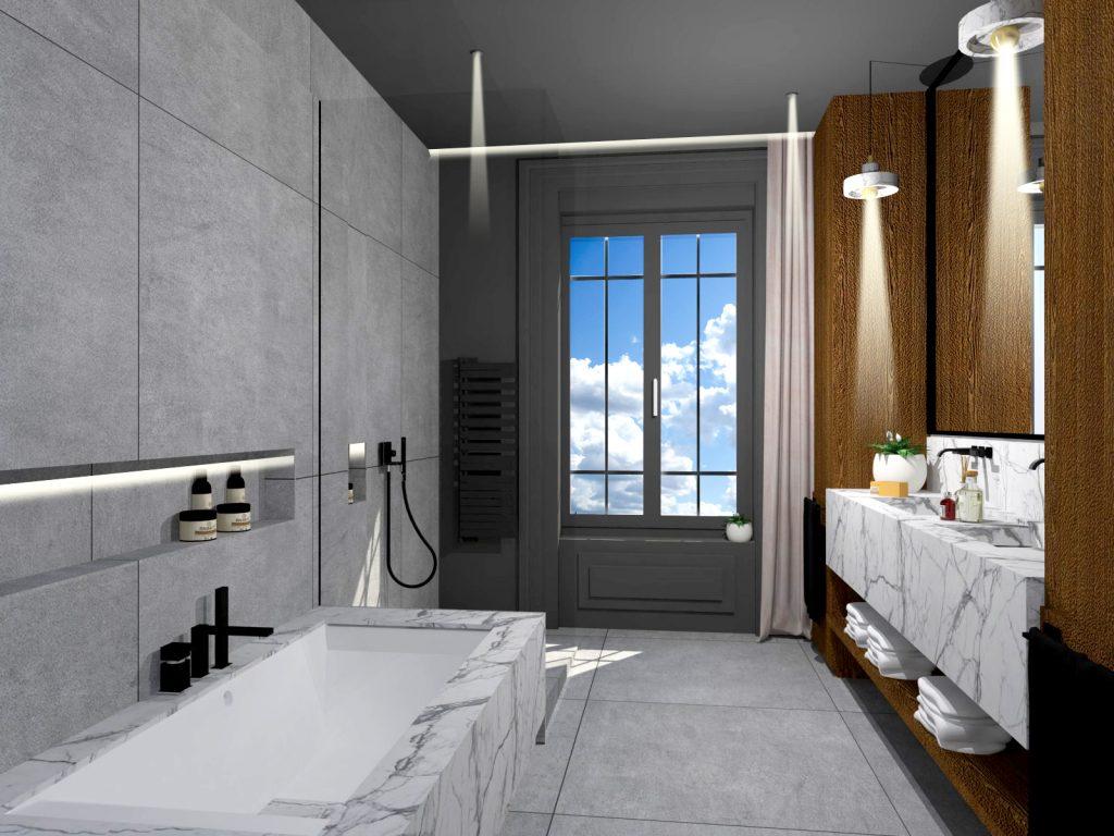 5 Maison Maitre Suite Master Marlene Reynard Chambre Salle De Bain 5