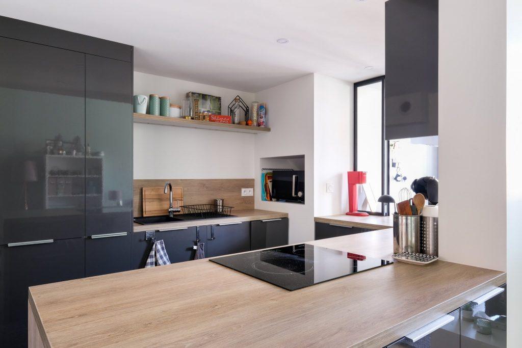 Appartement Canut.croix Rousse. Marlene Reynard.architecture Interieur. Decoration.cuisine.verriere.parquet (14)