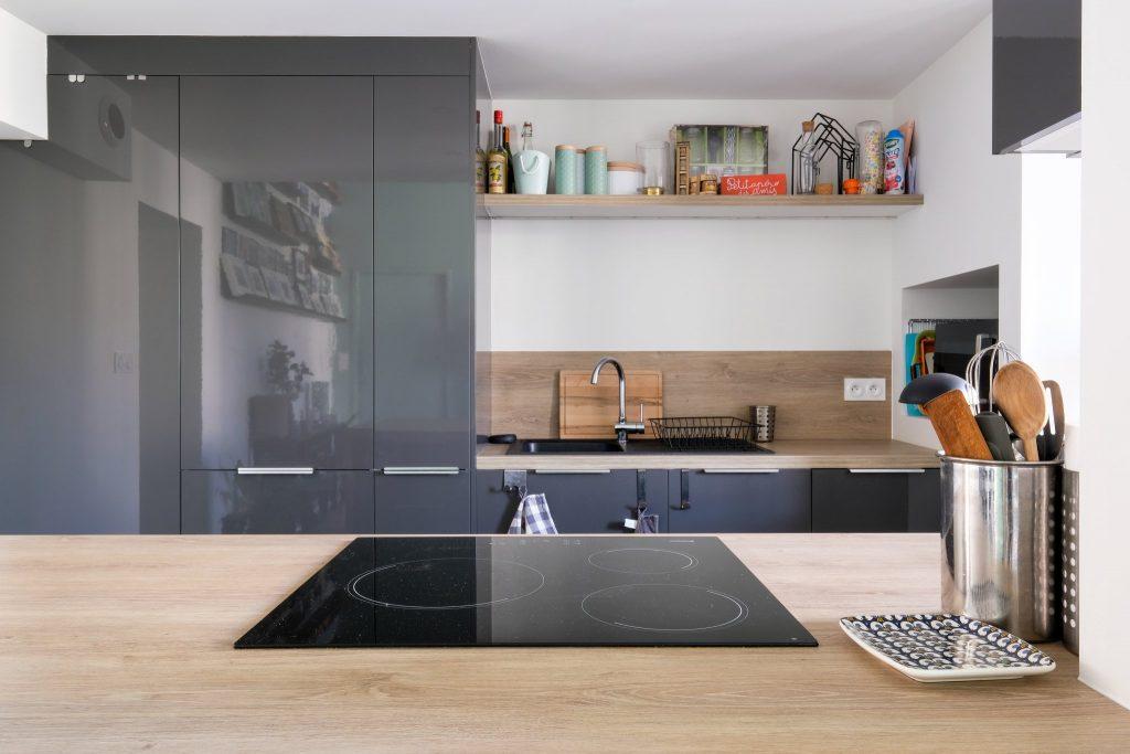 Appartement Canut.croix Rousse. Marlene Reynard.architecture Interieur. Decoration.cuisine.verriere.parquet (17)