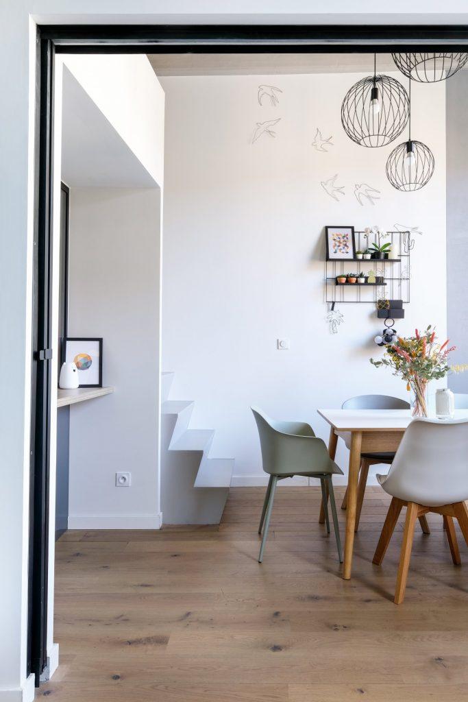 Appartement Canut.croix Rousse. Marlene Reynard.architecture Interieur. Decoration.cuisine.verriere.parquet (28)