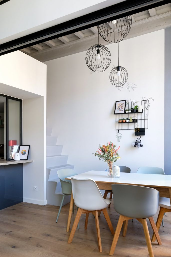 Appartement Canut.croix Rousse. Marlene Reynard.architecture Interieur. Decoration.cuisine.verriere.parquet (4)