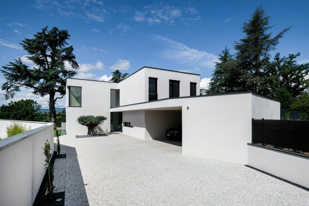 Maison Contemporaine.marlene Reynard.construction.neuve.piscine.toit Terrasse (1)