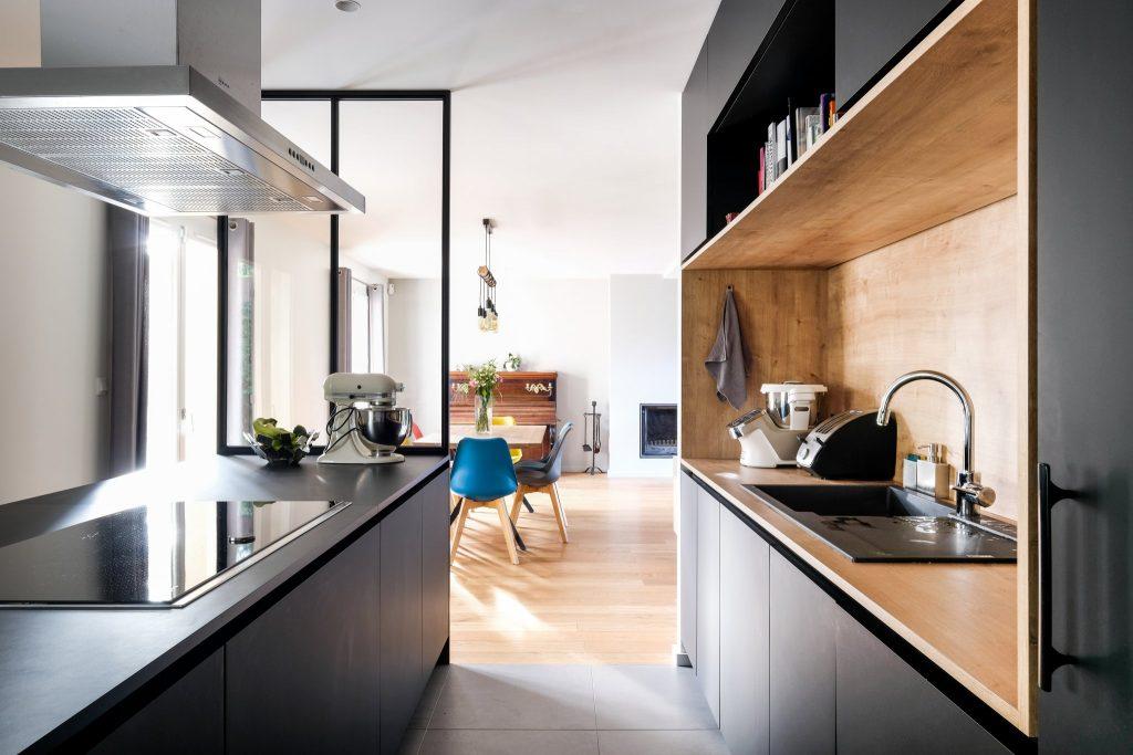 Maison.lyon.verrière.cuisine.fenix.cheminée.salon.marlene Reynard.architecture.decoration (18)
