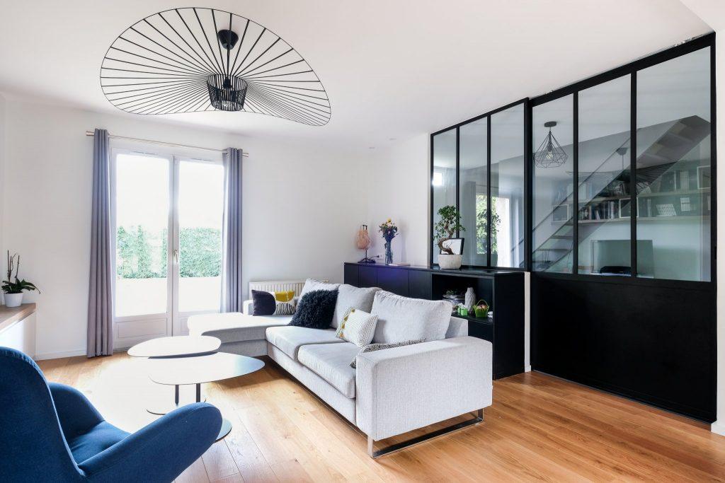 Maison.lyon.verrière.cuisine.fenix.cheminée.salon.marlene Reynard.architecture.decoration (4)