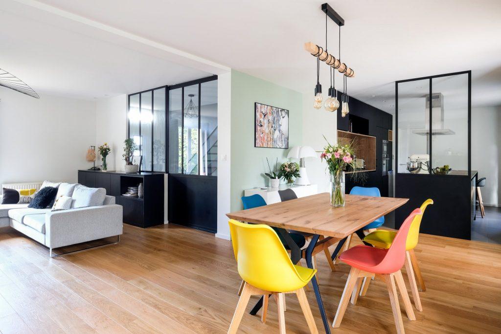 Maison.lyon.verrière.cuisine.fenix.cheminée.salon.marlene Reynard.architecture.decoration (9)