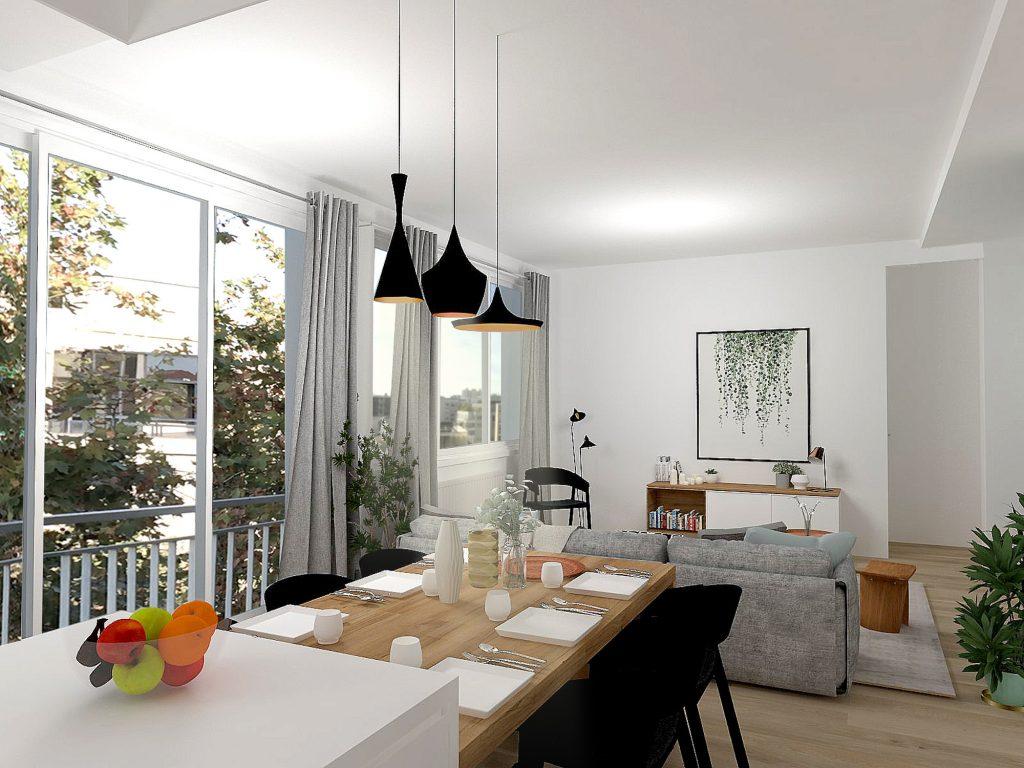 9 Appartement Lyon 8 Marlenereynard